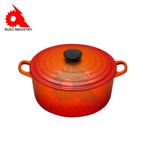 enameled cauldron cast iron cookware for indian