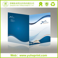 Office standary unique full color print factory price free design paper file folder