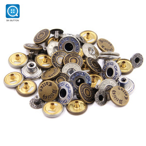 SK 2018 New Custom Design Jeans Button/Snap Fasteners Metal Snap Button For Jeans