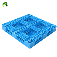Factory supply discount price 1200x800 food grade 3 skids euro plastic pallet