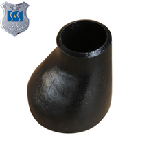 "ASTM A234/A234M WPB,WPC,WP1,6""Schedule 80S ASME B16.9 socket pipe fittings Butt Weld Concentric reducer"