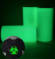 Eco-Solvent glow in the dark sticker vinyl heat transfer printing paper for t-shirt textile