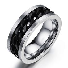 2019 Hot Selling Product Mens Black Natuursteen Rvs <span class=keywords><strong>Tat</strong></span> <span class=keywords><strong>Ring</strong></span> <span class=keywords><strong>Sieraden</strong></span>