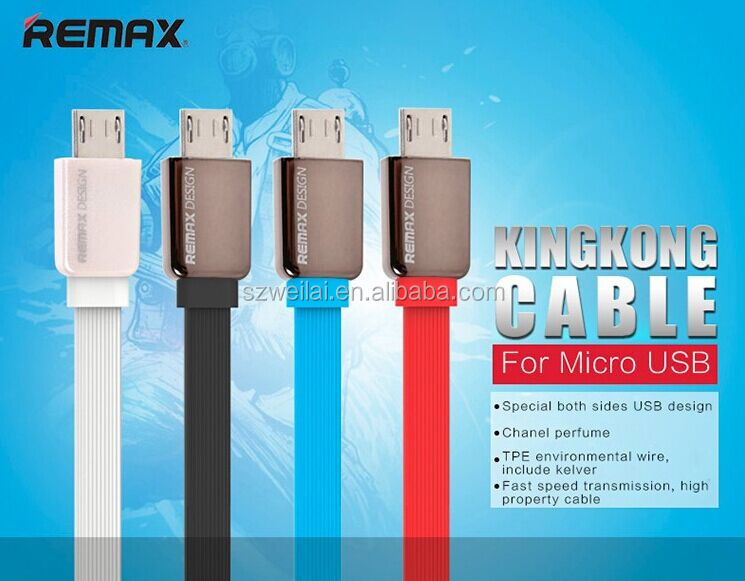 REMAX Kingkong micro USB data charger Cable for android mobile phone