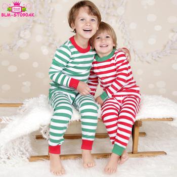 wholesale christmas pajamas sets striped pjs blanks sleepwear xmas gift for the whole family matching - Wholesale Christmas Pajamas