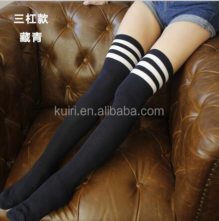 Womens Cotton Fashion Stocking/Girls Thigh High Socks/Knee High Socks