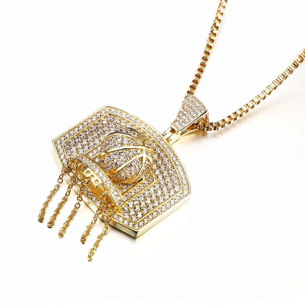 New design custom gold pendant designs men gold diamond cz new design custom gold pendant designs men gold diamond cz basketball pendant mozeypictures Image collections