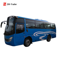 Rear Engine Bus CNG City Uses New Style Diesel Intracity Public Bus