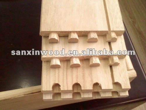 paulownia tongue and groove cedar wall panel