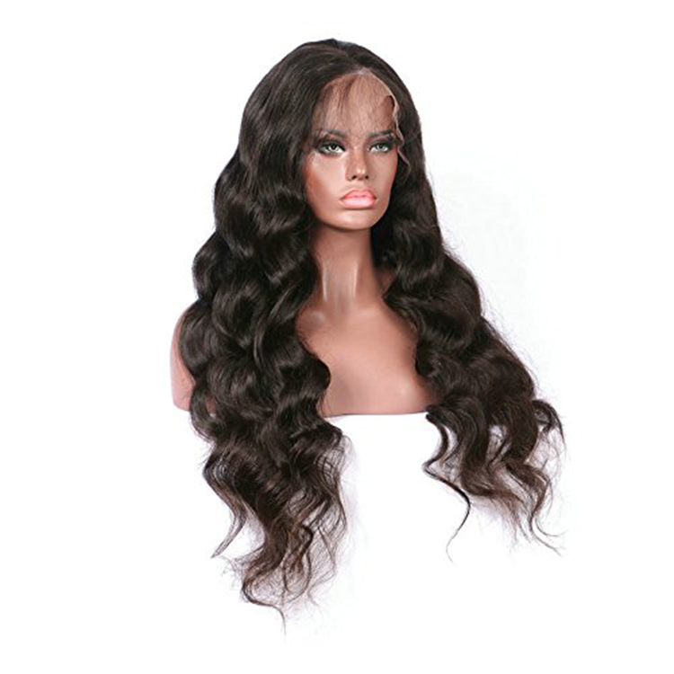 Wholesale cuticle aligned wig natural color ombre deepwave full lace wig 150 density