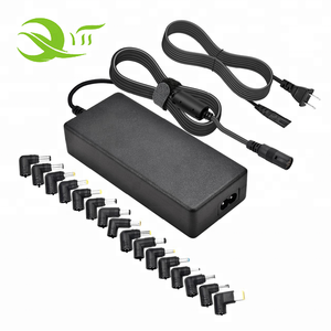 9.5V 10.5V 12V 19V 20V 40W max universal power supply laptop ac adapter with 8 dc tips