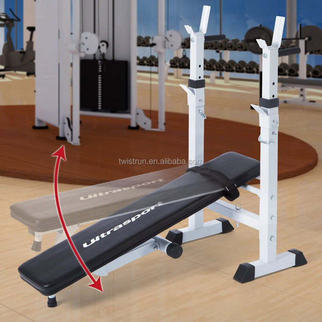Folding Weight Lifting Flat Incline Bench Fitness Body Workout weight bench