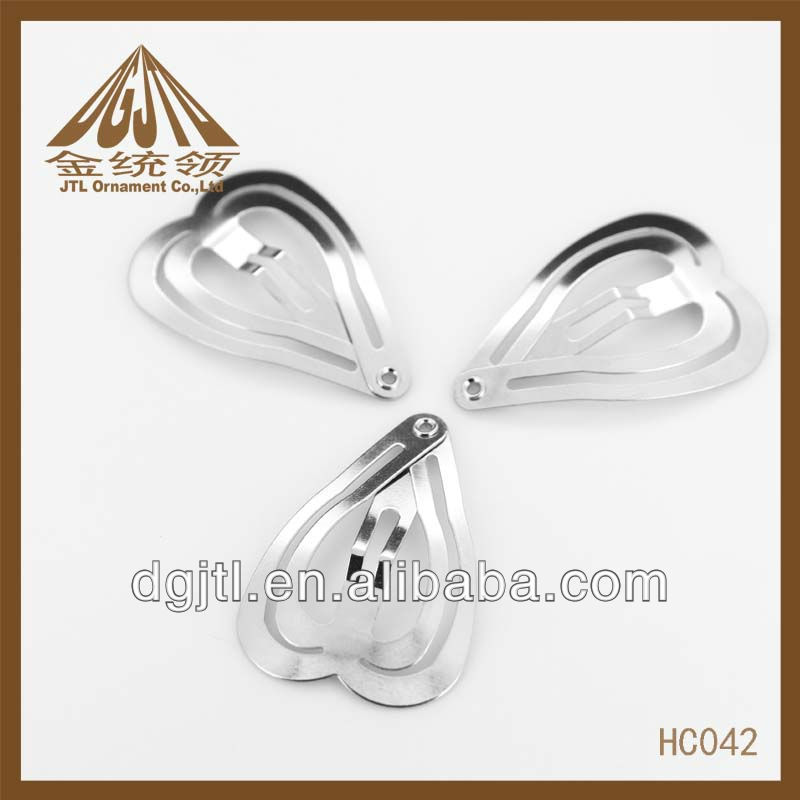 fashion high quanlity heart shape hair clip HC042