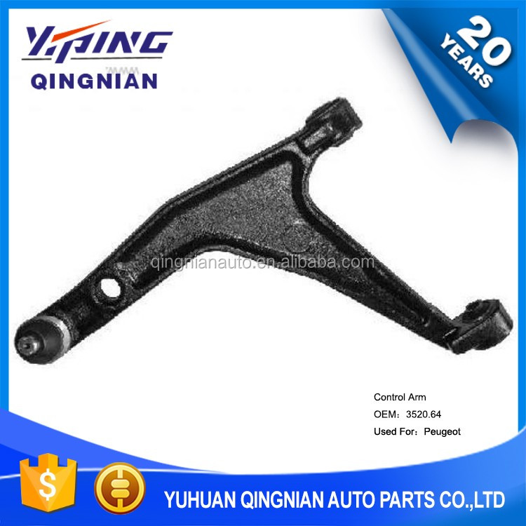 Lower Control Arm Used For Peugeot 309 Parts Oem:3520.64