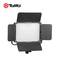 China Made Tolifo DMX512 NP-F750/NP-F960*2 2.4G Remote Control LED Video Panel Fill Light