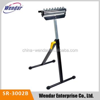 Adjule Pedestal Roller Stand With Tri Steel
