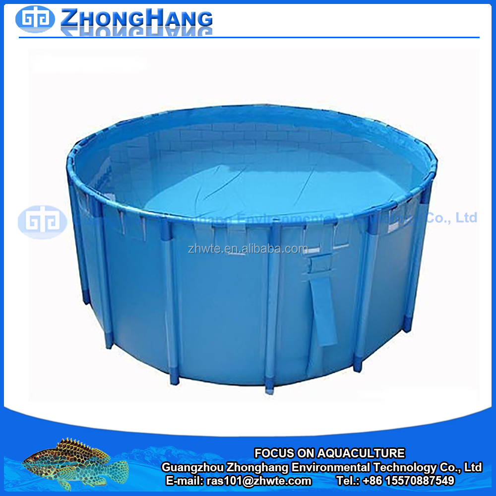PVC Folding Round Fish Pond