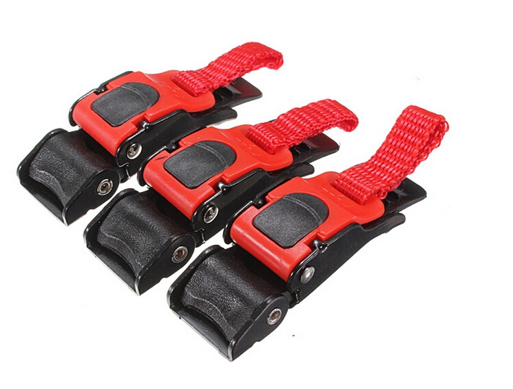 JahyShow 3PCS Motorcycle Helmet Speed Clip Chin Strap Buckle Quick Release Disconnect Pull Buckle