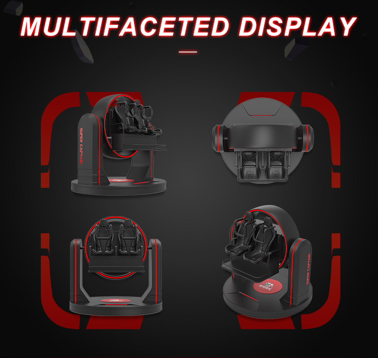 Superior Quality 9d cinema with 2 set 9d virtual reality games
