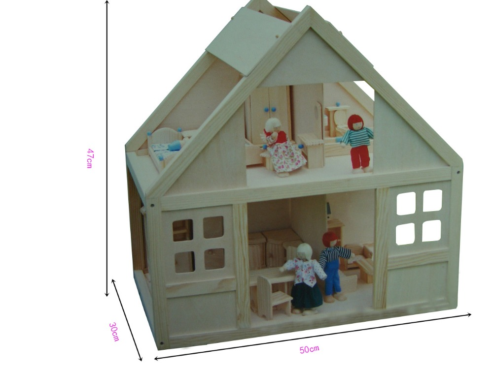 2016 New Style Wooden House,Toy Wood As Your Best Chioce