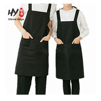 Hot-selling high quality kitchen cooking canvas apron with Women