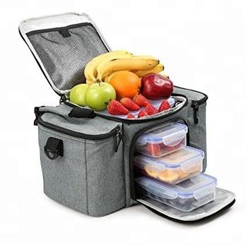 2018 Custom Insulated Lunch Bag Premium Meal Management Bag Portable Meal  Prep Bag 7f0c6d3d879b3