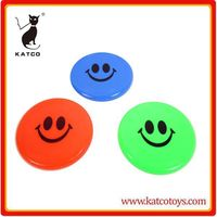 mini size cheap plastic customized promotional flying disc flyer wholesale