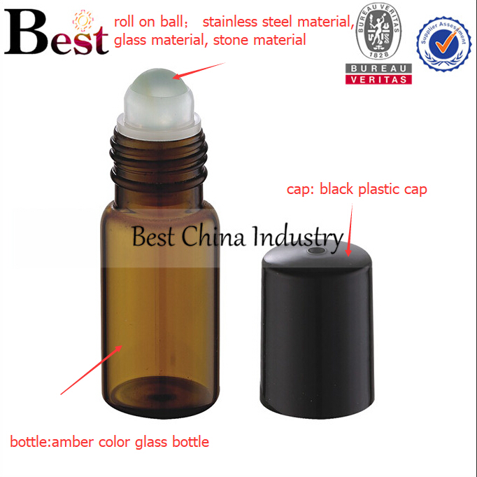 factory supply aromatherapy essential oil roller bottle deodorant 10ml roller ball bottle for essential oils