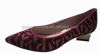 Product Zapatos On Baja 2014 Bombas Rhinestone Moda Buy Mujeres Tacón Grueso Cuero De Vestir Con Rojas WDY2E9IH