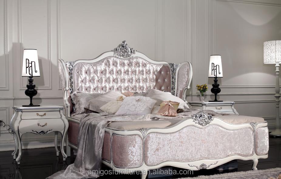 Französischer Schlafzimmermöbelsatz Italienischer Klassischer