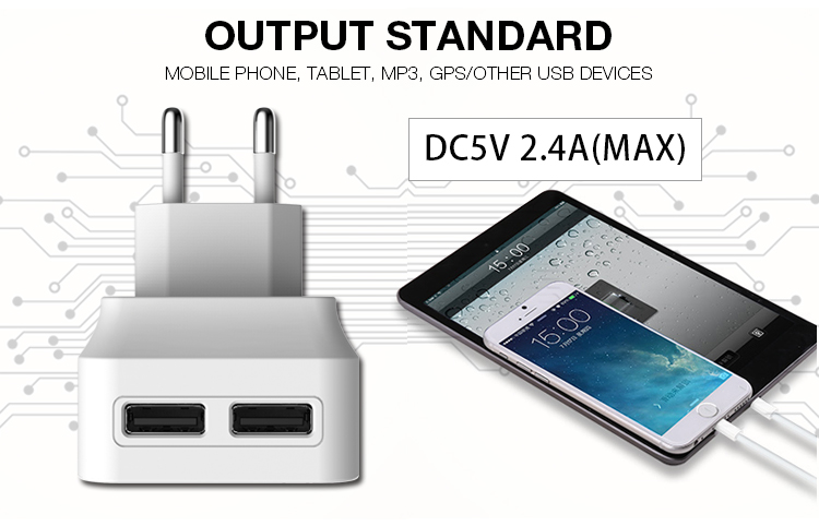 New Inverter Dual Usb Wall Charger For Macbook Pro Charger