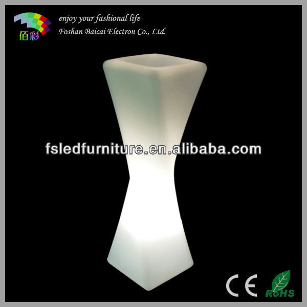 LED Flower Pot Lamp Lithium Electric Straight Filling