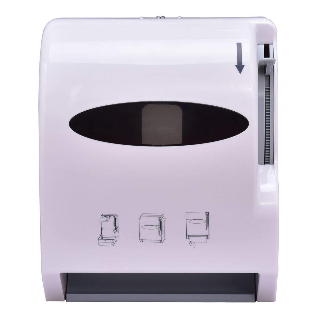 Durable Wall Mount Heavy Roll Paper Towel Dispenser MyEasyShopping