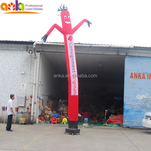 Focus on inflatable air dancer material with short lead time