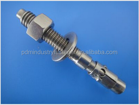 steel and stainless steel expansion wedge anchor bolt