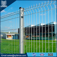 3D Nylofor PVC Powder Coated Galvanized V Profiled Welded Wire Mesh Fence Panel for Garden Boundary Factory Park Security