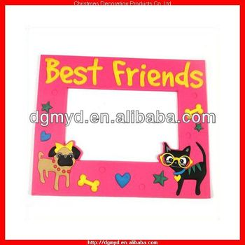 Claire\'s 3d Soft Pvc Photo Frame For Best Friends (myd-1542) - Buy ...