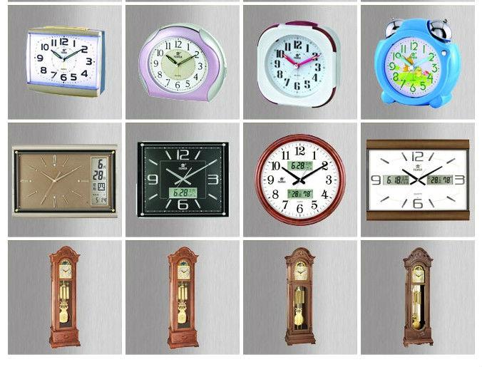 高品質プラスチックガラスアンティーク装飾音楽振り子壁時計 8 メロディクォーツムーブメントスイープ