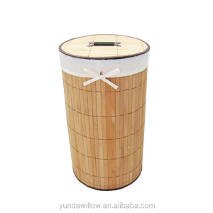Pure Handmade Weaving Round Wholesale Bamboo Basket