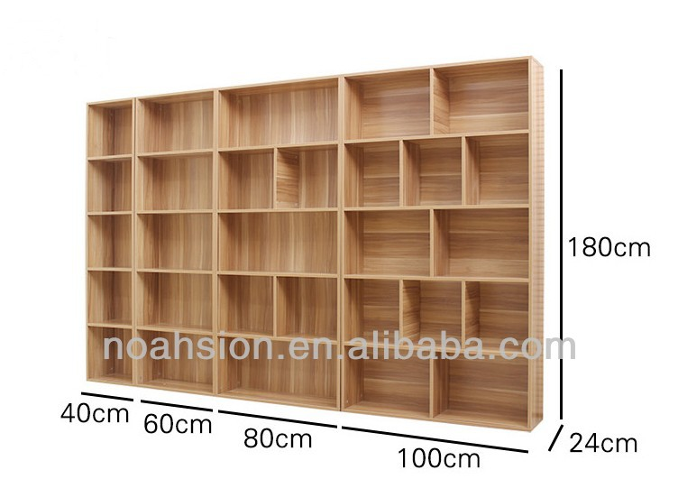 Wall Mfc Bookcases Bookshelf