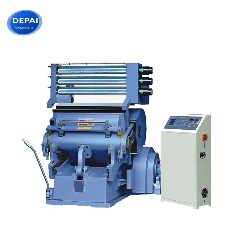 hot stamping and die cutting machine paper product machinery