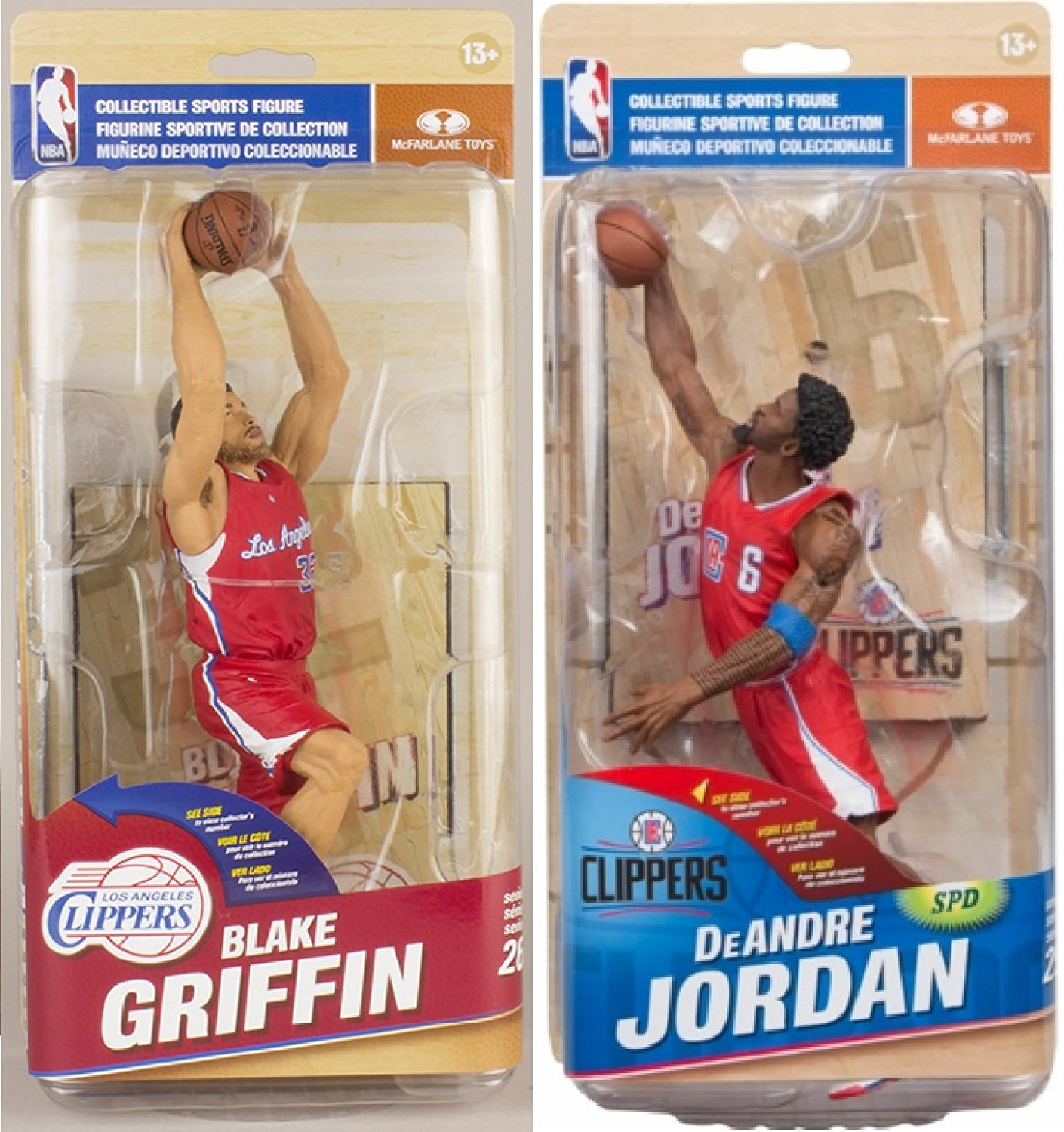 414d4ec9ea04c8 Get Quotations · McFarlane Toys NBA Los Angeles Clippers - Blake Griffin  (Red Jersey Variant Collector Level)