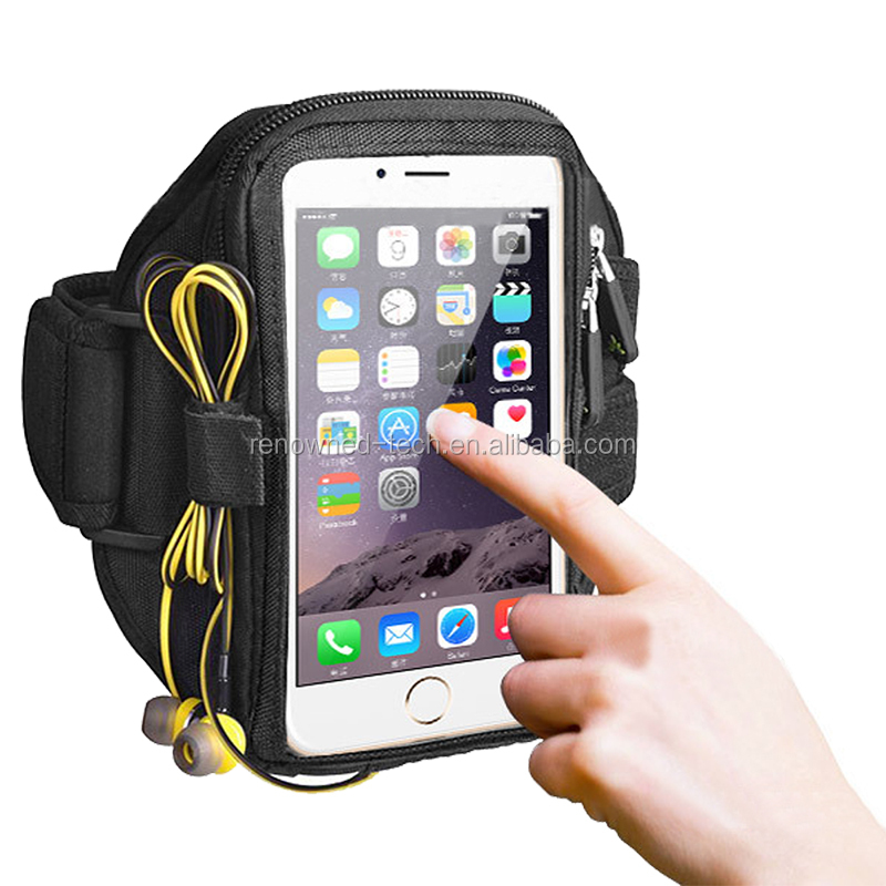 Beautiful 8 Pcs Newest Black Waterproof Running Jogging Sports Gym Armband Cover Holder For Iphone 6 Plus Mobile Phone Accessories Exquisite In Workmanship