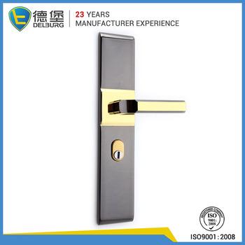 Stainless Steel Door Handle Lock, European Design Handle Door Lock Door  Handle, Exterior Door