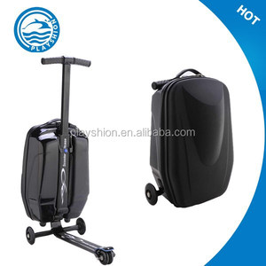 Suitcase Scooterd Travel Trolley , 2in 1 scooter luggage bag