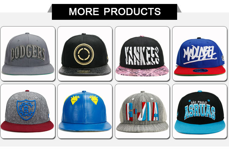 Standard Size Fitted Hat 3d Embroidery Face Logo Snapback