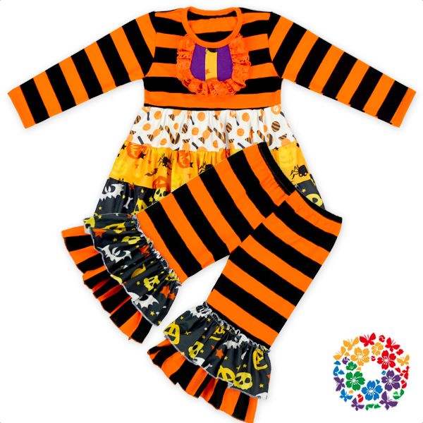 2016 Fashion Baby Romper Halloween Day Chiffon Jumpsuit Dress Newborn Baby Jumpsuit Wholesale