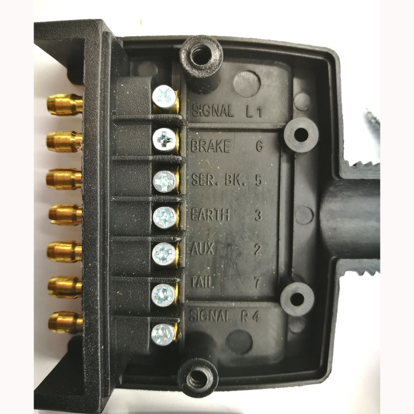 Australian Trailer Plug Wiring Diagram 7 Way Also 13 Pin Trailer Plug