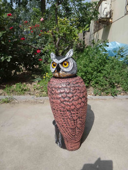 Merveilleux Zilin Manufactuer/Owl Decoy Garden Defense / Owls To Scare Pigeons