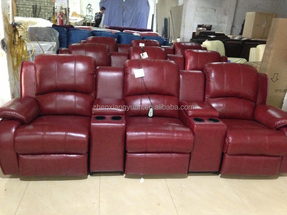 Leather Recliner Sofa Home Theatre Furniture Home Cinema